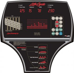 Console of exercise bike