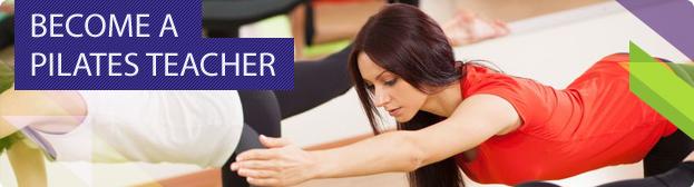 Become a Pilates teacher banner
