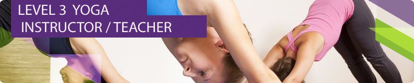 Level 3 Yoga Instructor course banner