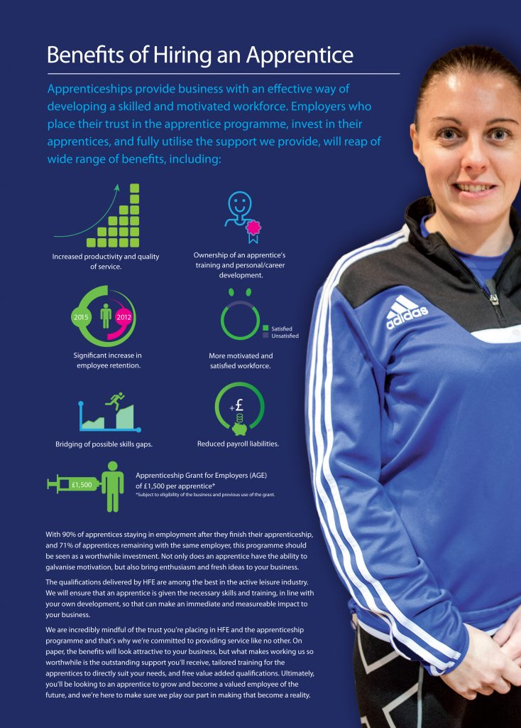 Benefits of Hiring an Apprentice Infographic