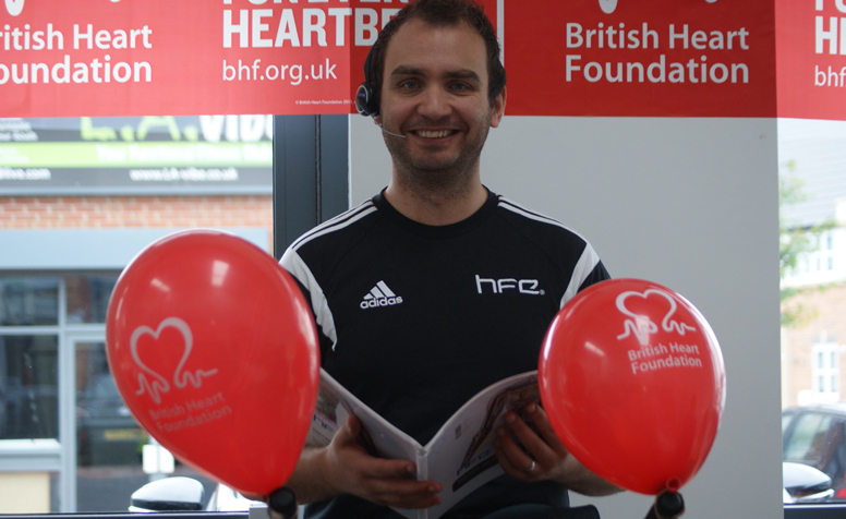 HFE fundraising for the British Heart Foundation