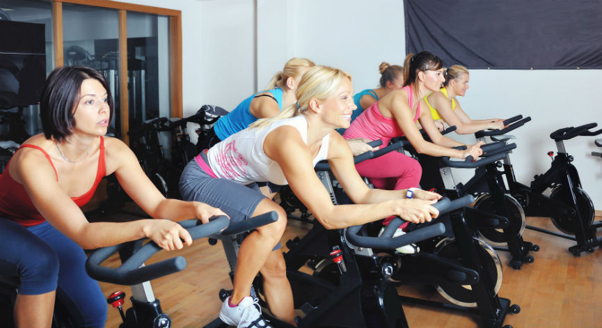 spin class cycling for weight loss