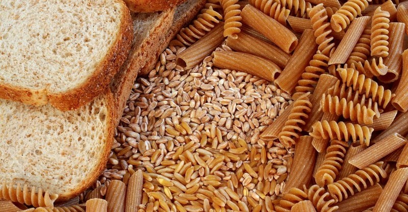 Pasta, grains and bread are great sources of carbohydrates