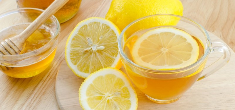 Lemon, honey and hot water can be great for combating a cold