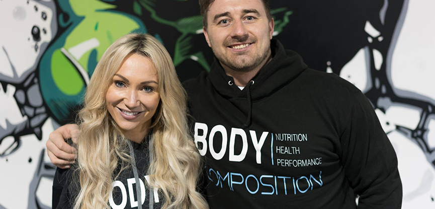 Simon Hall and Lydia Rees - body composition coaches
