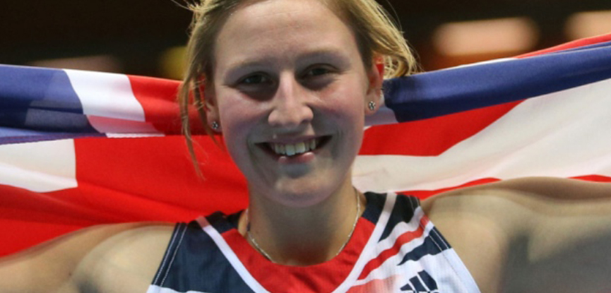 Team GB pole vaulter Holly Bradshaw has her sights set on a second Olypmics