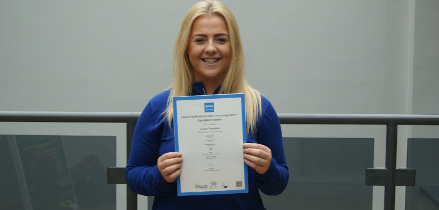 Lauren thompson apprenticeship success story