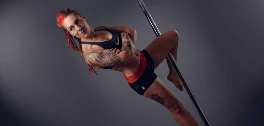 Neola Wilby is a pole fitness instructor and personal trainer