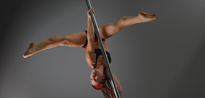 Neola Wilby recently launched her own pole fitness website
