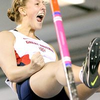 Team GB Olympic pole vaulter Holly Bradshaw