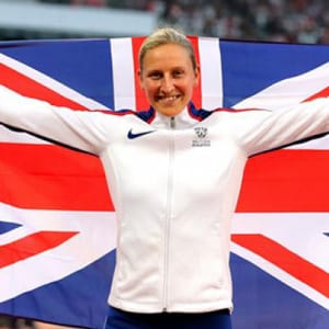 Team GB Olympic pole vaulter Holly Bradshaw is an HFE personal training student