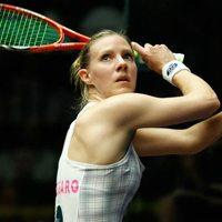 Laura Massaro British squash player and HFE yoga student