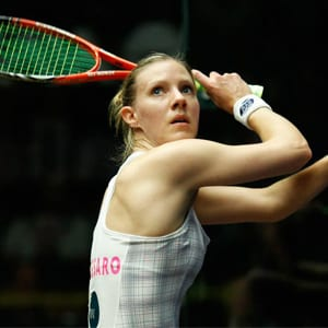 Laura Massaro is an HFE yoga student and former world number 1 squash player