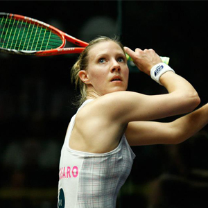 Laura Massaro is a World 1 squash player who studied yoga with HFE