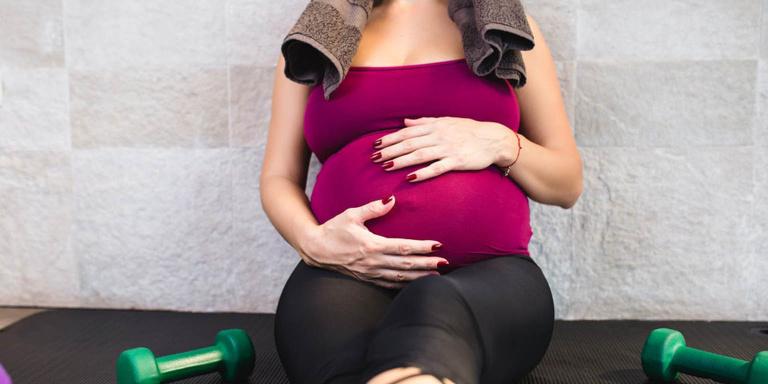 Pregnant client