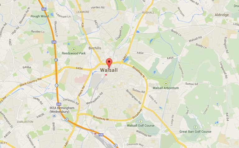 Walsall West Midlands Venue HFE
