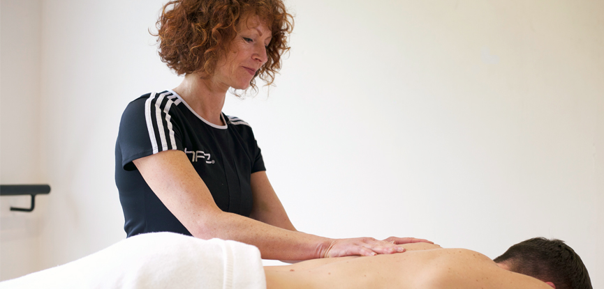 Massage can be used on many areas of the body including the upper back