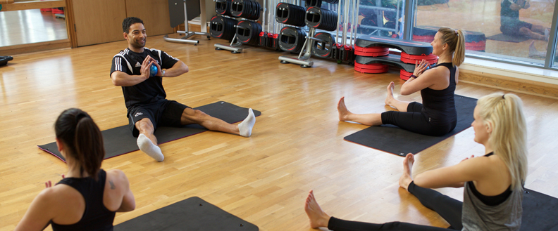 Level 3 Pilates students students attending a class