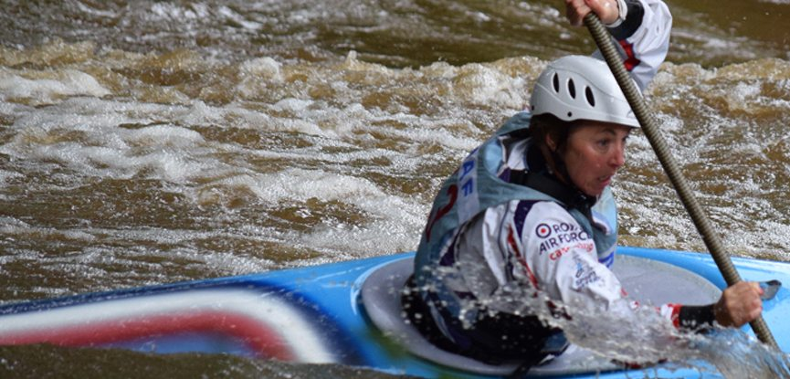 Joan Cawthray has represented Team GB in slalom canoe