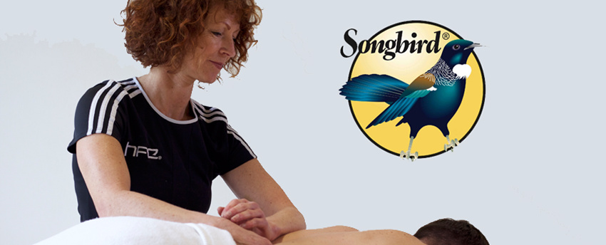 Songbird Naturals are proud supporters of HFE's sports massage courses