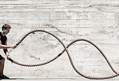 5 Heart Thumping Battle Rope Exercises