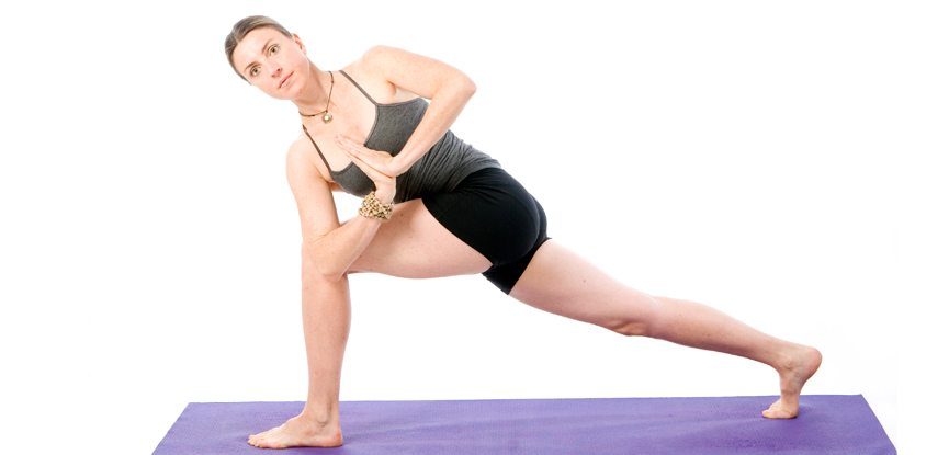 Revolved Extended Side Angle Pose