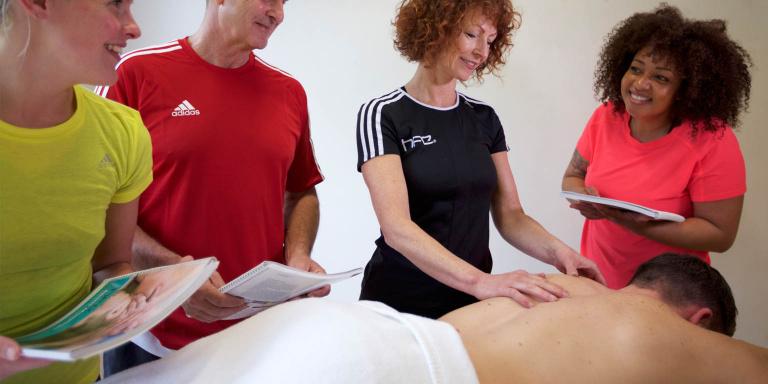 teaching sports massage