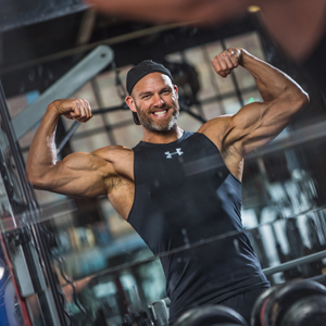 James Crossley is an elite personal trainer, fitness writer and Hunter from ITV's Gladiators
