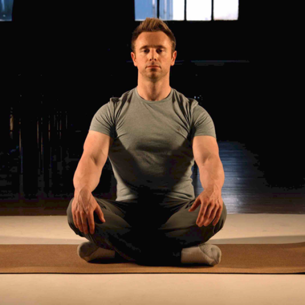 Scott Laidler meditating