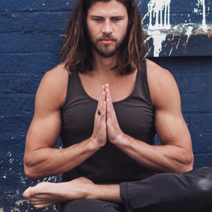 Jake Wood is the founder of yoga clothing brand so we flow...