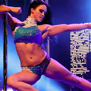 Sarah Scott is an international pole fitness instructor and performer