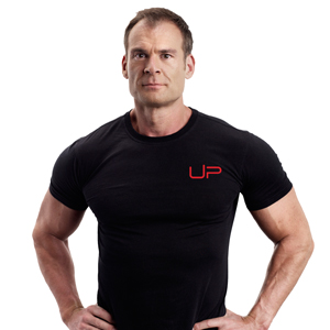 Founder of UP Fitness Nick Mitchell