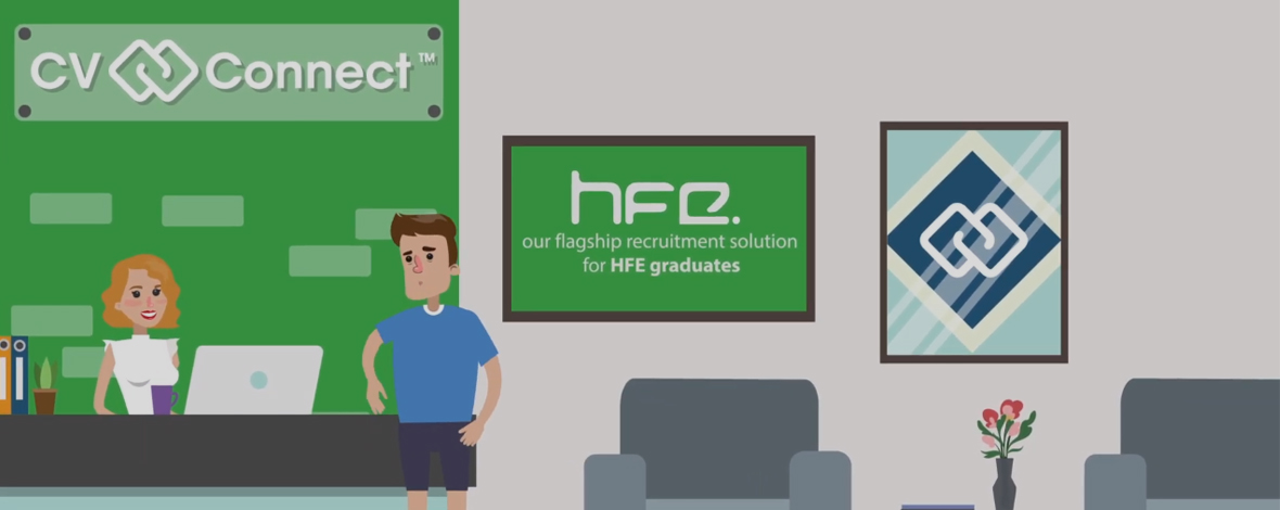 CV Connect is HFE's flagship recruitment solution that directly connects graduates to employers