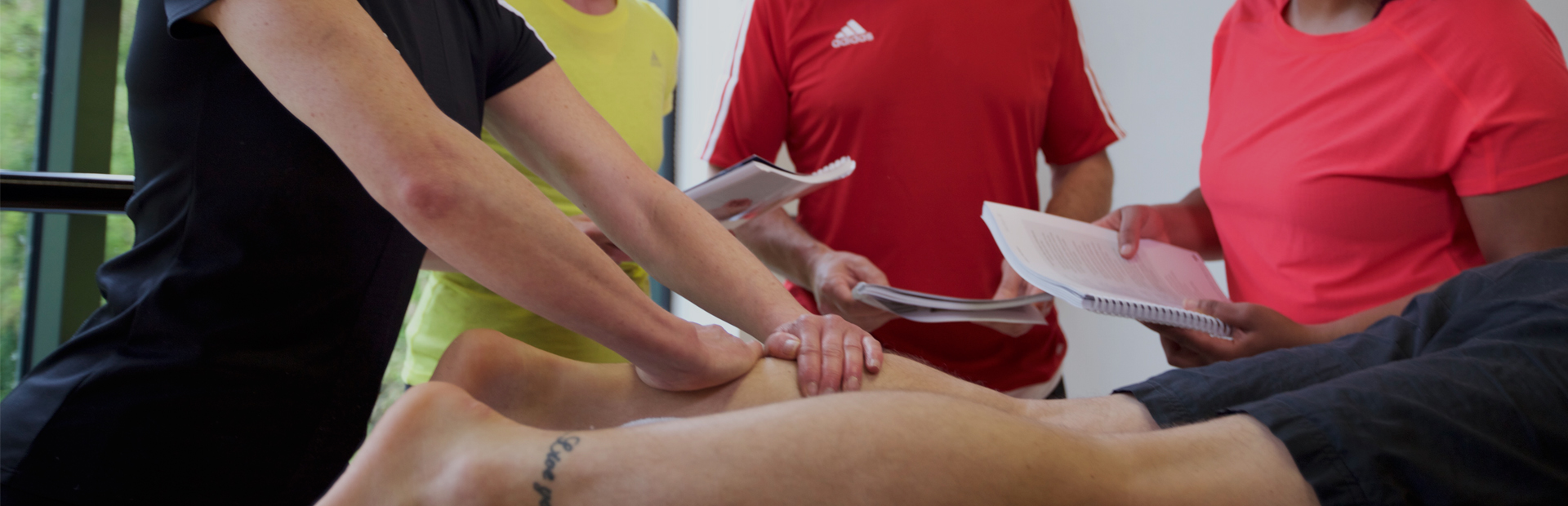 HFE's Level 4 sports massage course