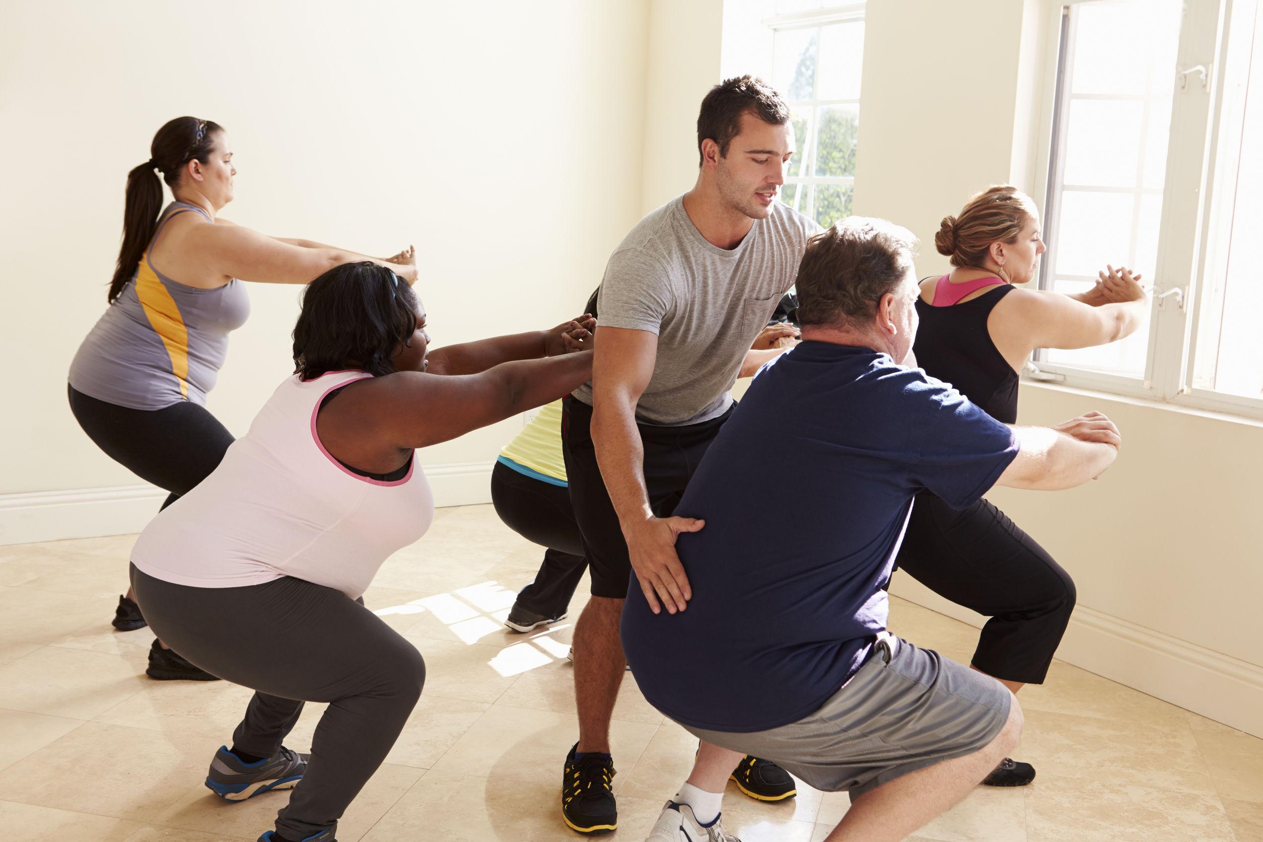Физические упражнения сбросить лишний вес