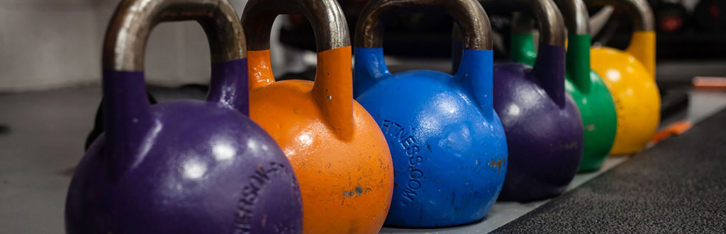 Personal trainers can be insured for equipment such as kettlebells
