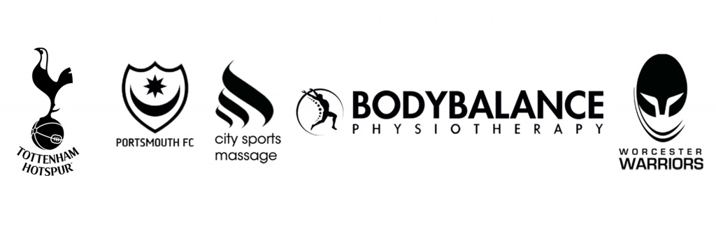 Sports massage jobs advertised by Tottenham Hotspur FC, Portsmouth FC, City Sports Massage, Bodybalance Physiotherapy and Worcester Warriors