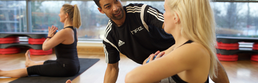 HFE Pilates tutor leading practical weekend training