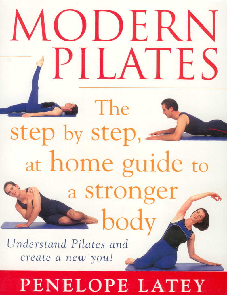 The front cover of Penny Latey's book Modern Pilates
