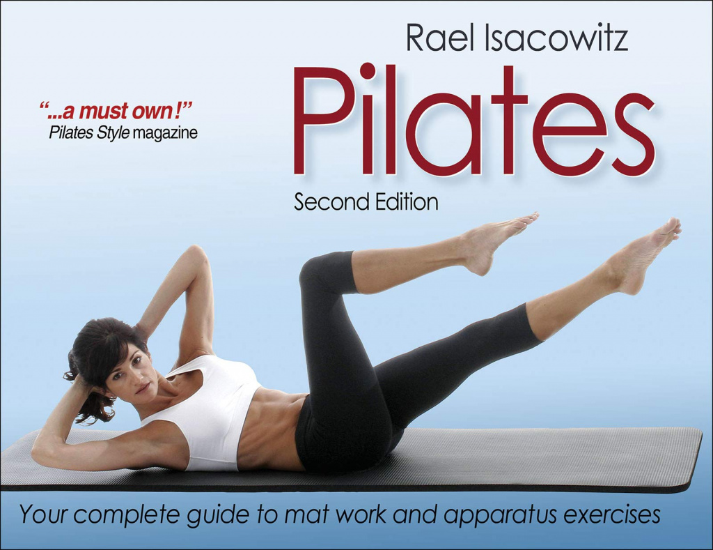The front cover of Pilates by Rael Isacowitz