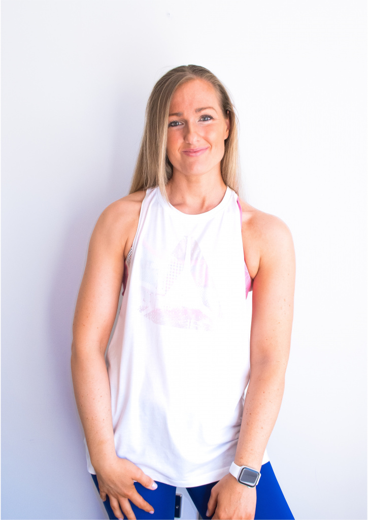 Aneliese Foxwell is the owner of Foxy Yoga and an HFE graduate