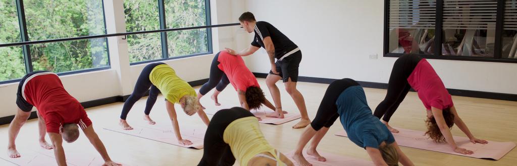 HFE tutor delivering yoga teacher training