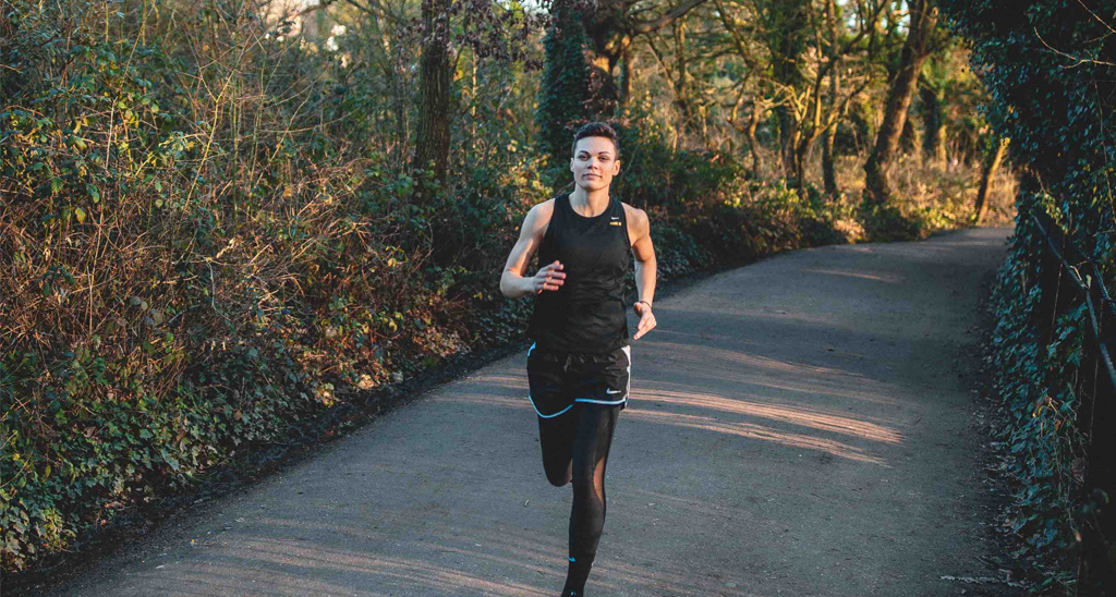 Georgie is a qualified personal trainer and accomplished runner