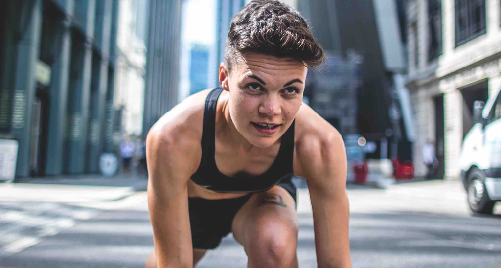 Georgie Okell is a personal trainer and mental health advocate