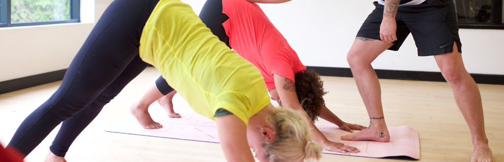 Sports massage therapists can upskill and become yoga teachers