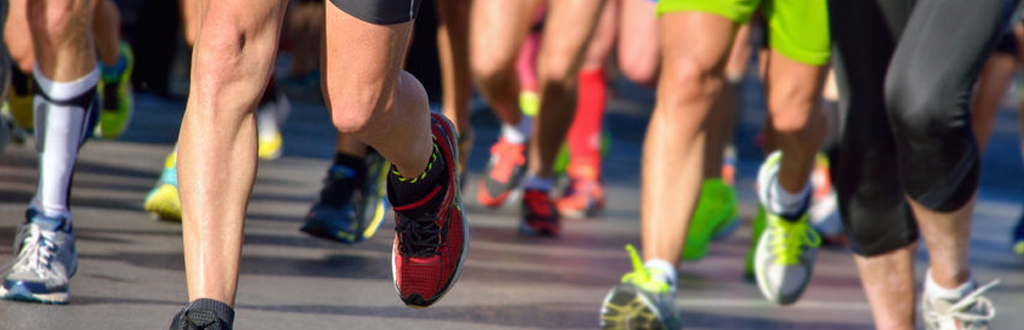 Sports massage therapists can volunteer at running events