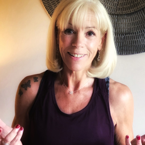 =Yvette Sanderson is HFE's most experienced yoga tutor
