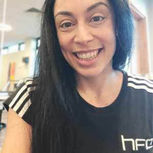 =Hara Markos is an expert Pilates instructor