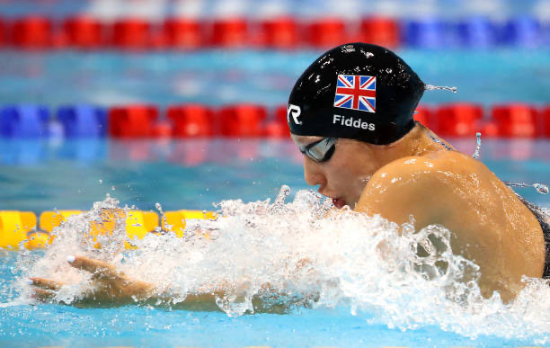 louise fiddes swimming