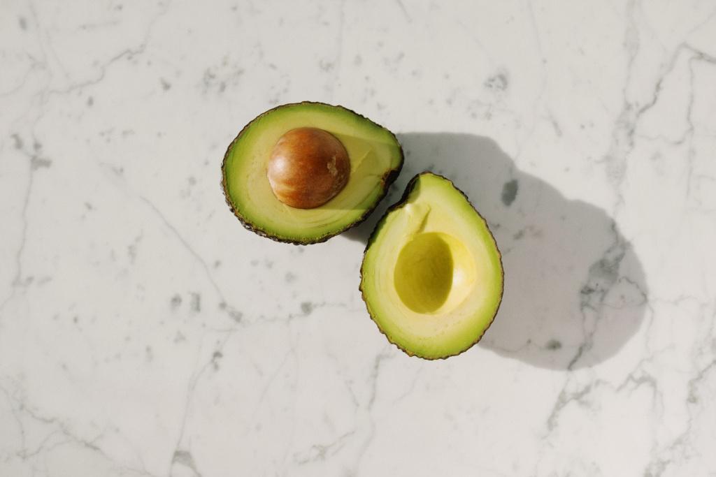 avocado split
